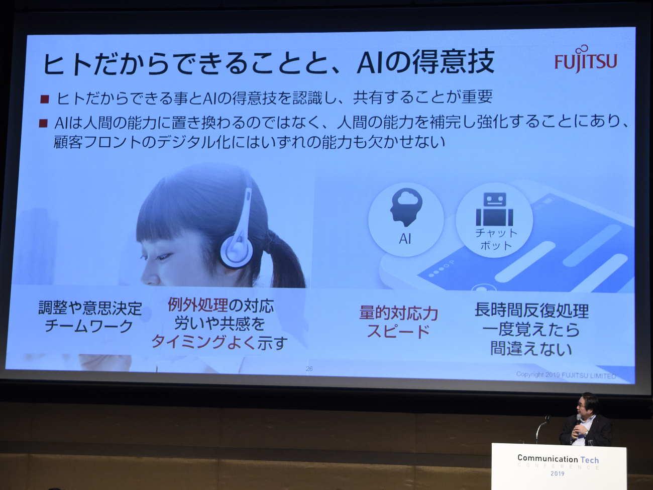 倉知氏の講演|ヒトだからできることと、AIの得意技