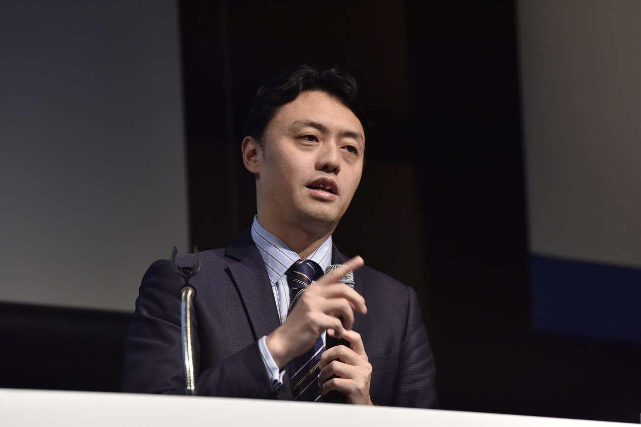 松尾氏の講演|聴衆に語りかける