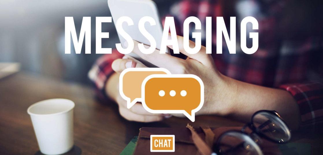 メッセージングアプリ
