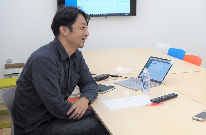モビルス代表石井智宏とMe-Rise代表東峰ゆか氏のインタビュー対談の様子